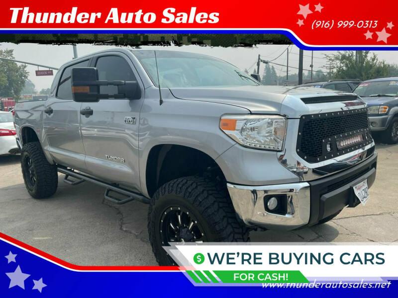 2017 Toyota Tundra for sale at Thunder Auto Sales in Sacramento CA