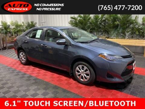 2017 Toyota Corolla for sale at Auto Express in Lafayette IN