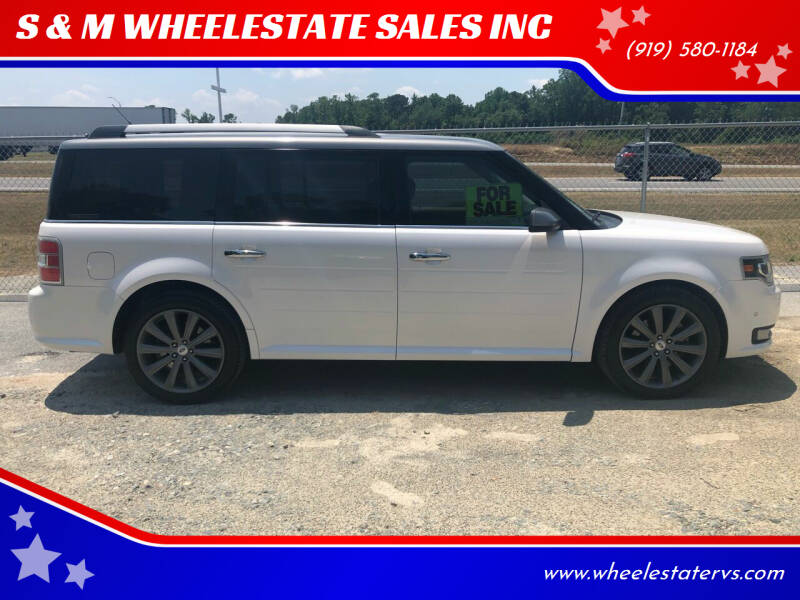 2018 Ford Flex for sale at S & M WHEELESTATE SALES INC - Cars and Trucks in Princeton NC