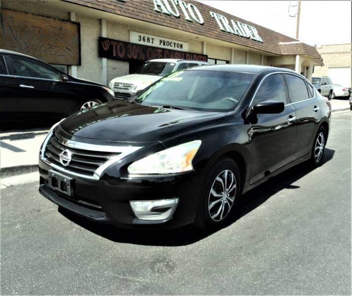 2013 Nissan Altima for sale at DESERT AUTO TRADER in Las Vegas NV