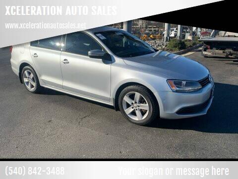 2011 Volkswagen Jetta for sale at XCELERATION AUTO SALES in Chester VA