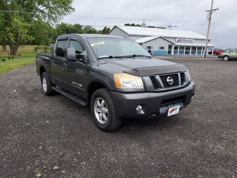 2011 Nissan Titan for sale at ALL WHEELS DRIVEN in Wellsboro PA