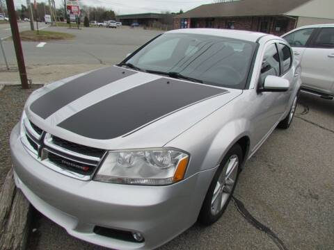2012 Dodge Avenger for sale at Portsmouth Auto Sales & Repair in Portsmouth RI