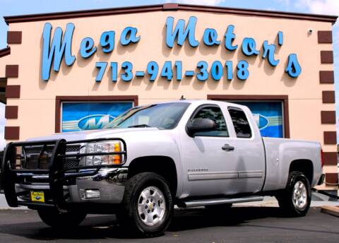 2012 Chevrolet Silverado 1500 for sale at MEGA MOTORS in South Houston TX