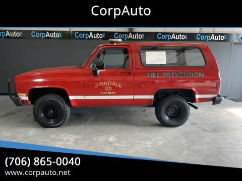 1985 Chevrolet Blazer for sale at CorpAuto in Cleveland GA