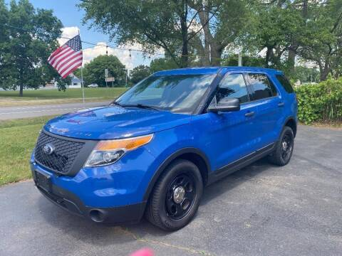 2015 Ford Explorer for sale at Rombaugh's Auto Sales in Battle Creek MI