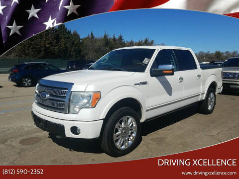 2010 Ford F-150 for sale at Driving Xcellence in Jeffersonville IN