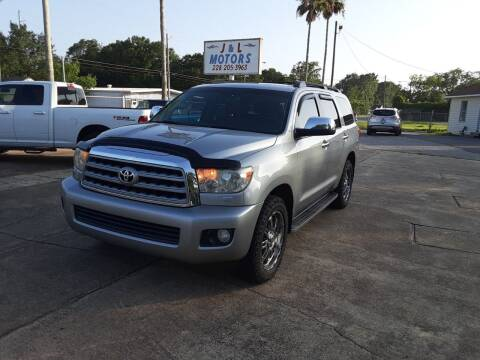 2008 Toyota Sequoia for sale at J & L Motors in Pascagoula MS