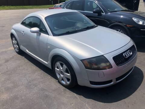 2000 Audi TT for sale at Maroun's Motors, Inc in Boardman OH