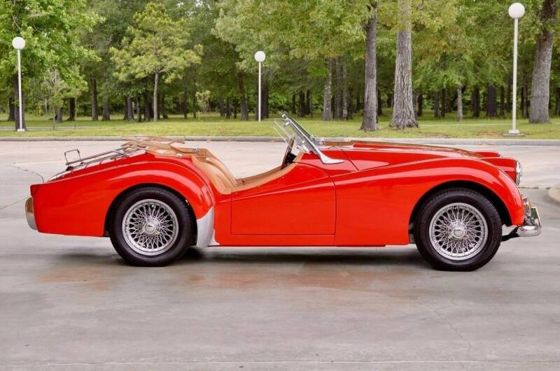 1957 Triumph TR3 for sale at Cars-yachtsusa.com in League City TX