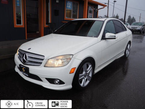 2010 Mercedes-Benz C-Class for sale at Sabeti Motors in Tacoma WA