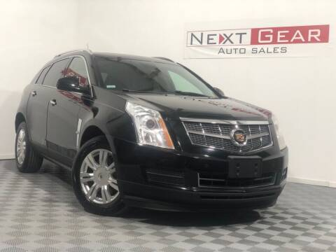 2012 Cadillac SRX for sale at Next Gear Auto Sales in Westfield IN