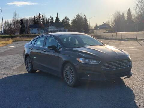 2013 Ford Fusion for sale at Freedom Auto Sales in Anchorage AK