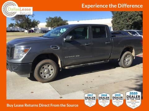 2018 Nissan Titan XD for sale at Dallas Auto Finance in Dallas TX
