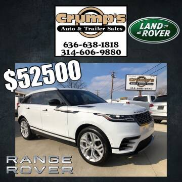 2019 Land Rover Range Rover Velar for sale at CRUMP'S AUTO & TRAILER SALES in Crystal City MO
