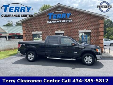 2013 Ford F-150 for sale at Terry Clearance Center in Lynchburg VA