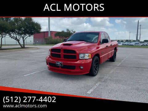 2005 Dodge Ram Pickup 1500 SRT-10 for sale at ACL MOTORS in Austin TX