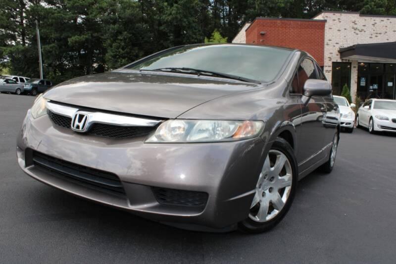2009 Honda Civic for sale at Atlanta Unique Auto Sales in Norcross GA
