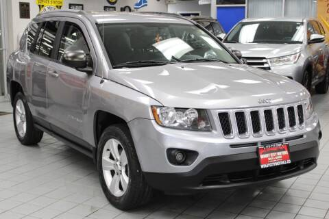2016 Jeep Compass for sale at Windy City Motors in Chicago IL