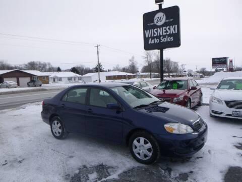 2006 Toyota Corolla for sale at Wisneski Auto Sales, Inc. in Green Bay WI