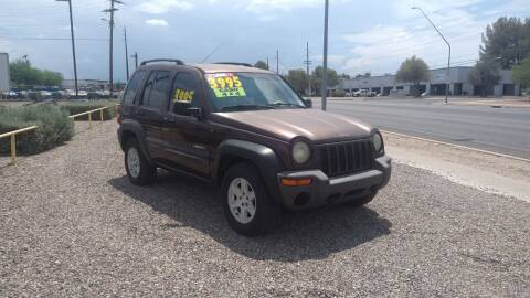 2004 Jeep Liberty for sale at CAMEL MOTORS in Tucson AZ