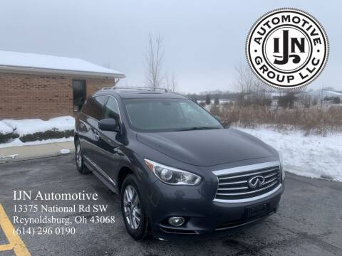 2014 Infiniti QX60 for sale at IJN Automotive Group LLC in Reynoldsburg OH