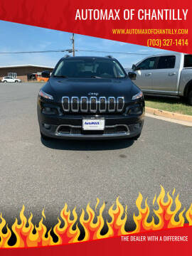 2014 Jeep Cherokee for sale at Automax of Chantilly in Chantilly VA
