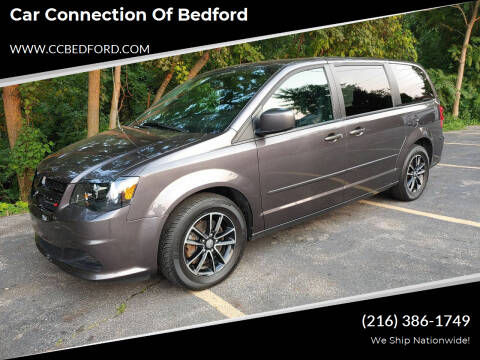 2016 Dodge Grand Caravan for sale at Car Connection of Bedford in Bedford OH