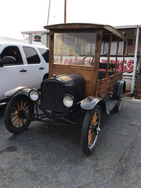 1920 Ford T Depot hack for sale at Siskiyou Auto Sales in Yreka CA