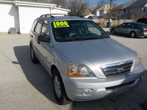 2007 Kia Sorento for sale at SEBASTIAN AUTO SALES INC. in Terre Haute IN