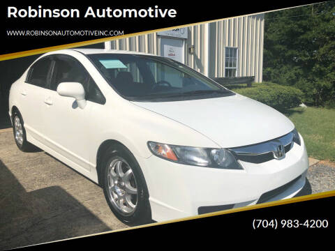 2011 Honda Civic for sale at Robinson Automotive in Albemarle NC