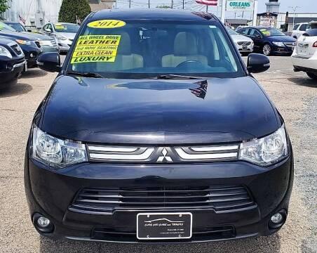 2014 Mitsubishi Outlander for sale at Cape Cod Cars & Trucks in Hyannis MA