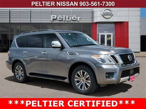 2018 Nissan Armada for sale at TEX TYLER Autos Cars Trucks SUV Sales in Tyler TX