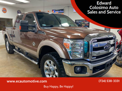2012 Ford F-250 Super Duty for sale at Edward Colosimo Auto Sales and Service in Evans City PA