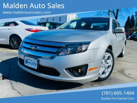 2010 Ford Fusion for sale at Malden Auto Sales in Malden MA