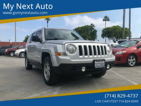 2011 Jeep Patriot for sale at My Next Auto in Anaheim CA