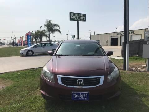 2009 Honda Accord for sale at Budget Motors in Aransas Pass TX
