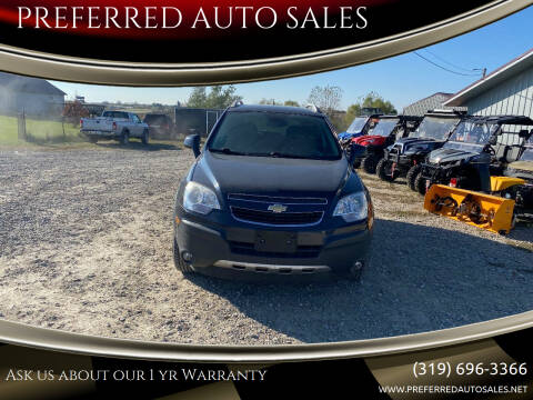 2014 Chevrolet Captiva Sport for sale at PREFERRED AUTO SALES in Lockridge IA