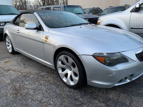 2007 BMW 6 Series for sale at Boardman Auto Mall in Boardman OH