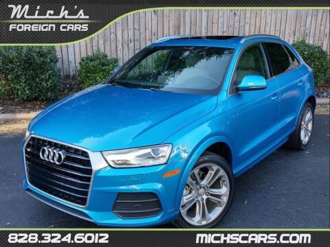 2016 Audi Q3 for sale at Mich's Foreign Cars in Hickory NC
