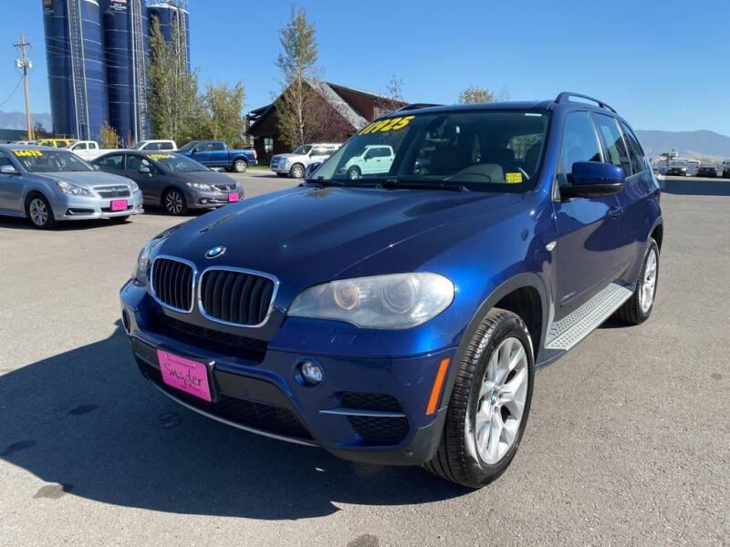 2011 BMW X5 for sale at Snyder Motors Inc in Bozeman MT