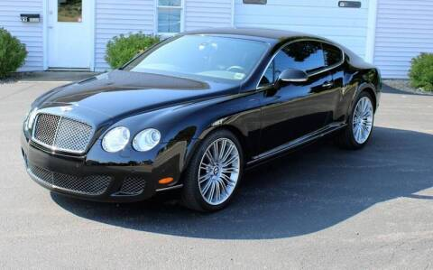2010 Bentley Continental for sale at Great Lakes Classic Cars & Detail Shop in Hilton NY