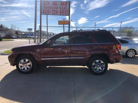2009 Jeep Grand Cherokee for sale at D & M Vehicle LLC in Oklahoma City OK