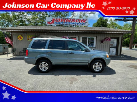 2005 Honda Pilot for sale at Johnson Car Company llc in Crown Point IN