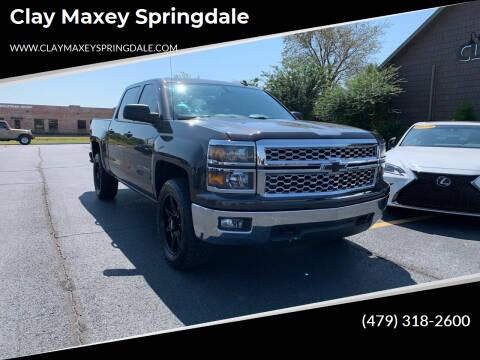 2014 Chevrolet Silverado 1500 for sale at Clay Maxey Springdale in Springdale AR