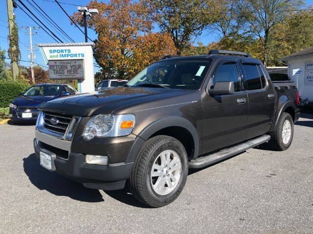 2008 Ford Explorer Sport Trac for sale at Sports & Imports in Pasadena MD