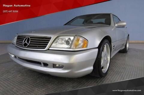 2002 Mercedes-Benz SL-Class for sale at Hagan Automotive in Chatham IL