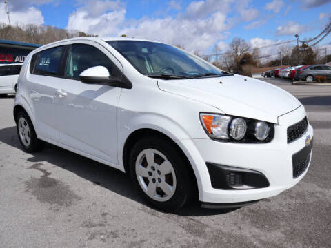 2016 Chevrolet Sonic for sale at Viles Automotive in Knoxville TN
