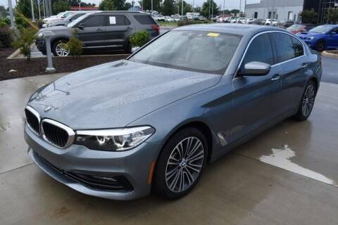 2018 BMW 5 Series for sale at PHIL SMITH AUTOMOTIVE GROUP - MERCEDES BENZ OF FAYETTEVILLE in Fayetteville NC