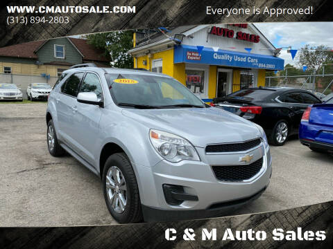 2015 Chevrolet Equinox for sale at C & M Auto Sales in Detroit MI